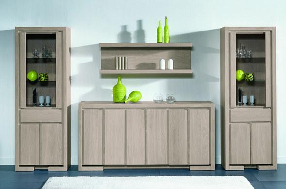 Vitrinas de madera para tu comedor muebles nina for Decorar mueble comedor
